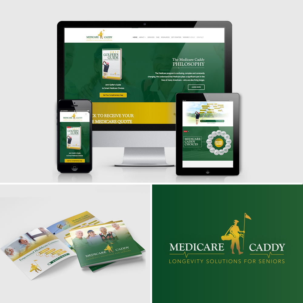 Medicare Caddy Branding and Web Design