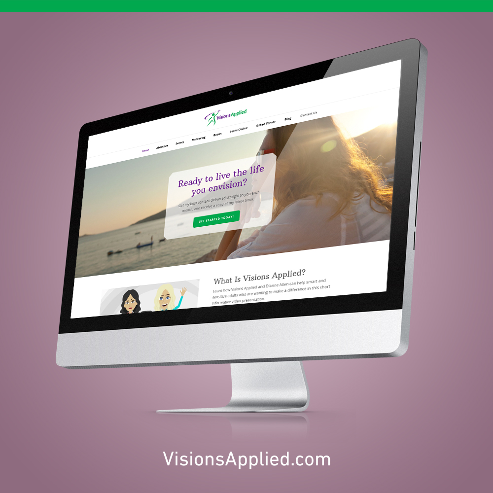 Visions Applied Website Design