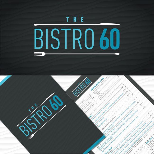 Bistro 60 Branding & Menu Design