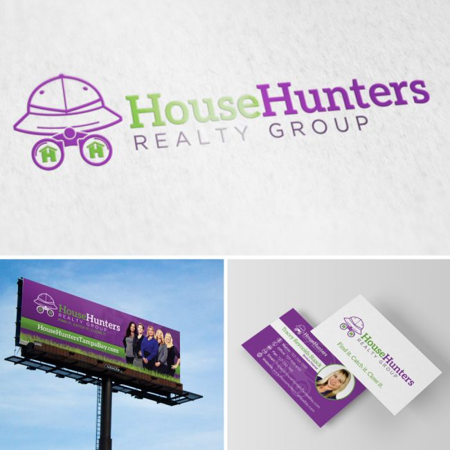 House Hunters Realty Group Branding & Marketing