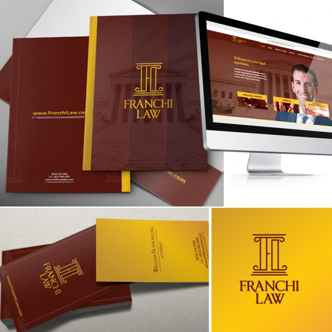 Franchi Law Corporate Identity Design