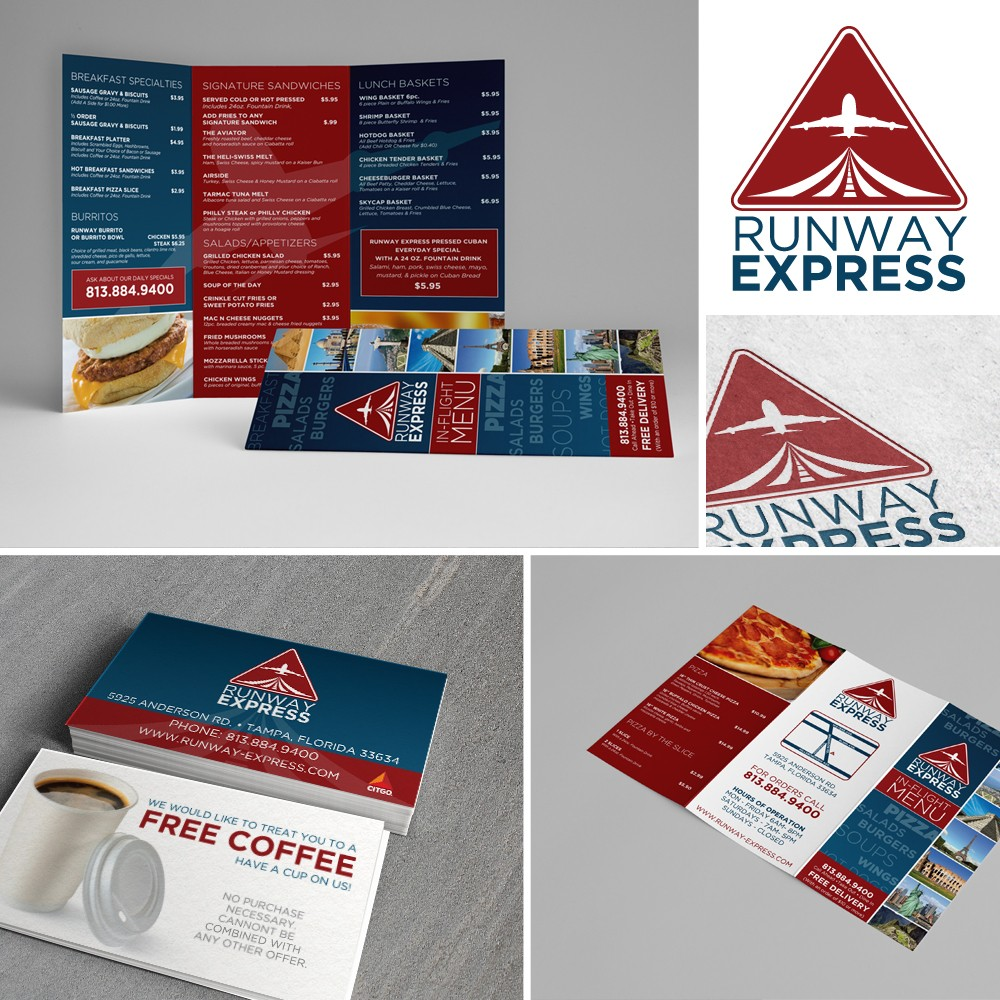 Runway Express Corporate Identity Design