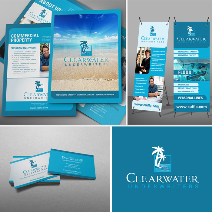 Clearwater Underwriters Branding & Marketing