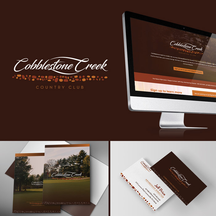 Cobblestone Creek Identity Design